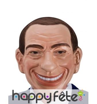 Masque de Silvio Berlusconi