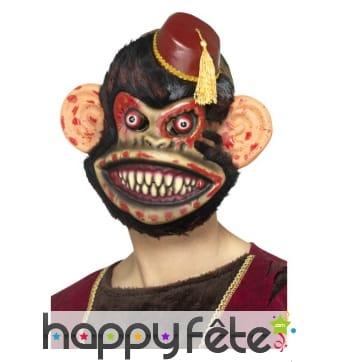 Masque de singe jouet zombie