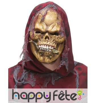 Masque de squelette mangeur de croco