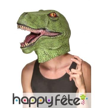 Masque de T-rex intégral pour adulte