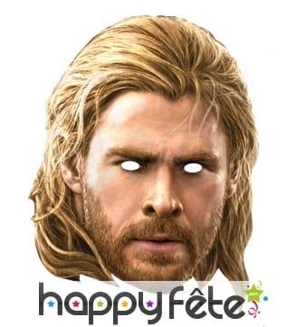 Masque de Thor, Avengers en carton plat