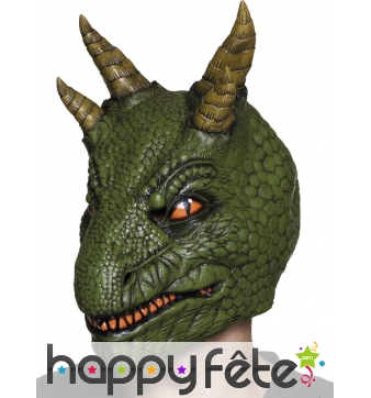 Masque de tricératops pour adulte