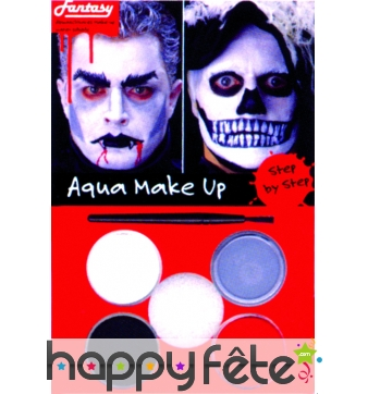 Maquillage de vampire ou zombie aquaexpress