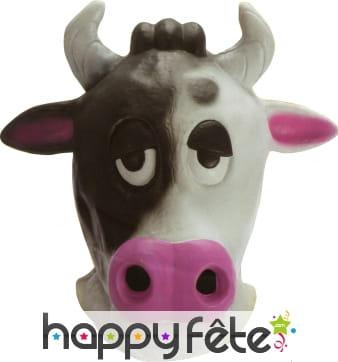 Masque de vache complet