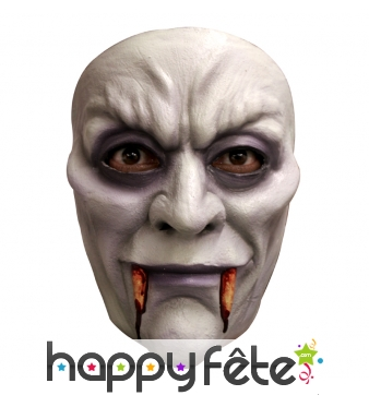 Masque de vampire facial en latex