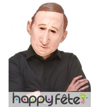 Masque de Vladimir Poutine humoristique