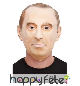 Masque de Vlamidir Poutine intégral pour adulte