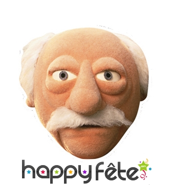 Masque de Waldorf du muppet show