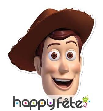 Masque de Woody en carton