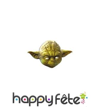 Masque de Yoda en carton
