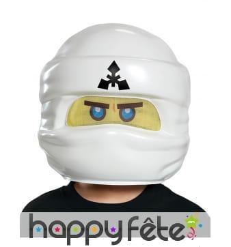 Masque de Zane pour enfant, Lego Ninjago