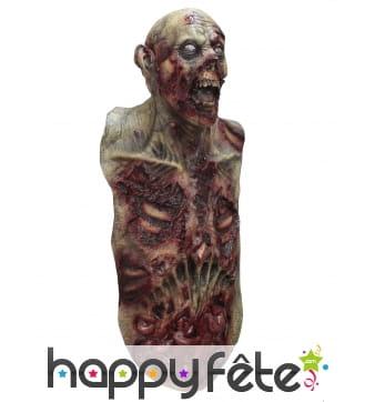 Masque de zombie avec buste
