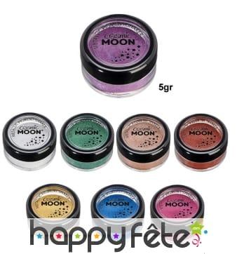Maquillage effet métallique en pot de 5gr