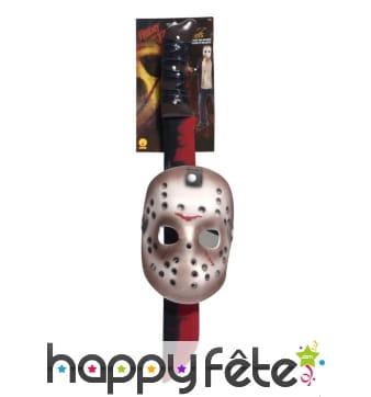 Masque et machette Jason