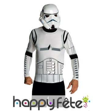 Masque et T-shirt de stormtrooper