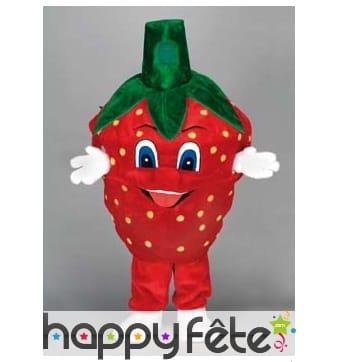 Mascotte fraise
