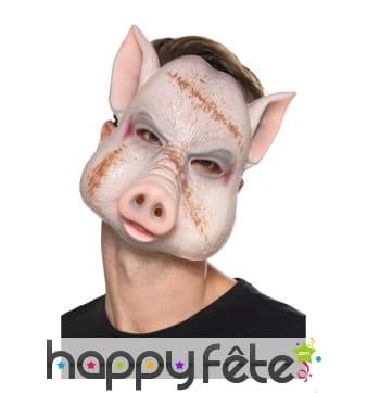 Masque facial de cochon tueur