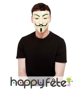 Masque facial de Dali pour adulte