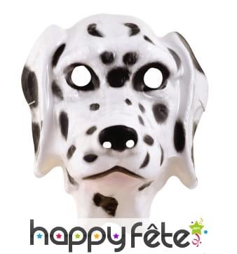 Masque facial de dalmatien pour enfant