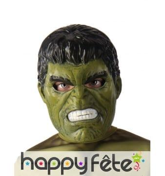 Masque facial de Hulk pour enfant