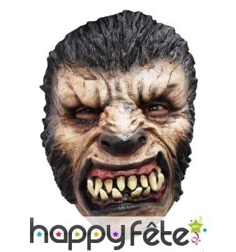 Masque facial de monstre loup garou