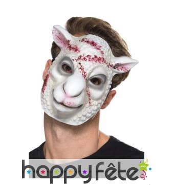 Masque facial de mouton tueur
