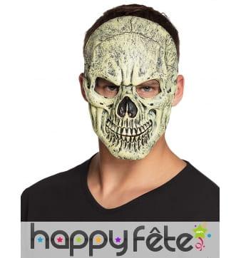 Masque facial de squelette