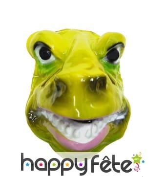 Masque facial de T-rex pour enfant