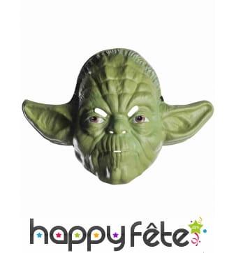 Masque facial de Yoda pour adulte