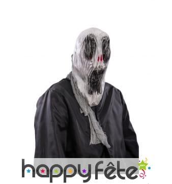 Masque fantôme effrayant pour adulte