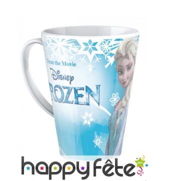Mug Frozen La Reine des Neiges en mélamine