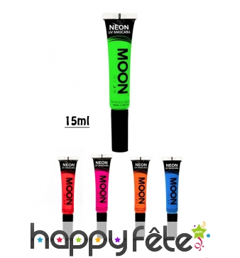 Mascara fluo UV, Moonglow