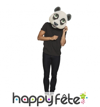 Masque géant de panda pour adulte