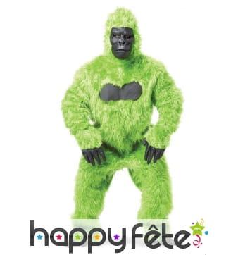 Mascotte gorille vert