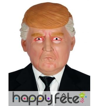 Masque Humoristique du Président Trump