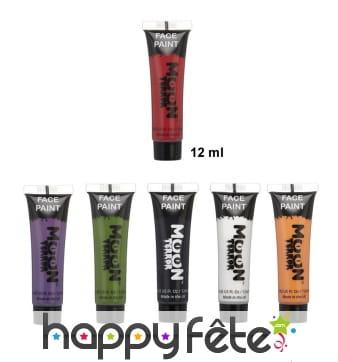 Maquillage Halloween pour visage et corps, 12ml