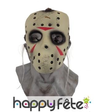 Masque intégral de Jason avec partie détachable