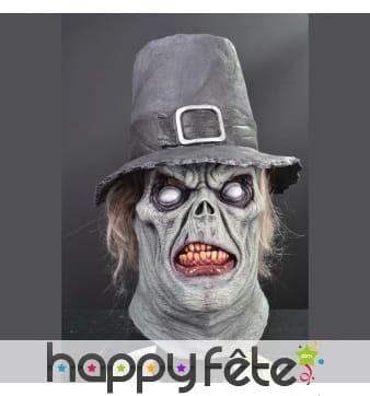 Masque intégral de monsieur zombie