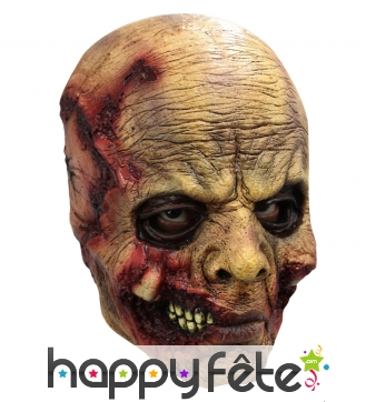 Masque intégral de mort vivant en latex