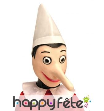 Masque intégral de Pinocchio pour adulte
