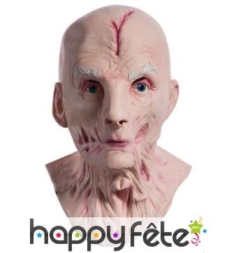 Masque intégral de Snoke le chancelier suprême