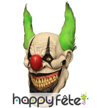Masque intégral de Zippo le clown tueur