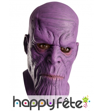 Masque intégral Thanos Avengers Infinity, adulte