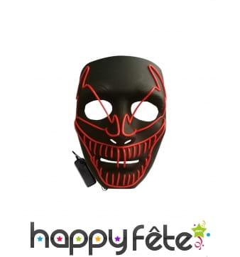 Masque LED de Venom pour adulte