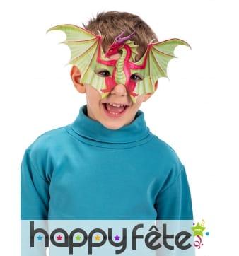Masque loup dragon pour enfant