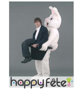 Mascotte lapin et magicien