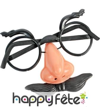 Mini lunettes faux nez avec moustaches