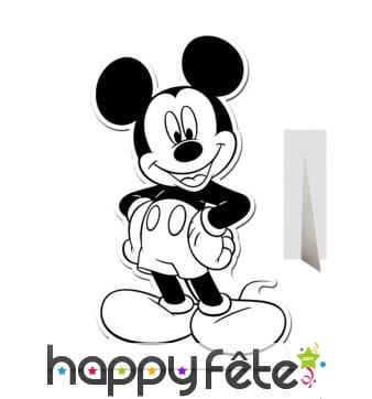 Mickey Mouse géant à colorier