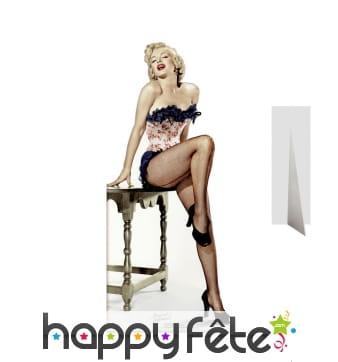 Marilyn Monroe sexy et burlesque, carton plat