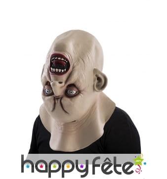 Masque monstre visage inversé pour adulte